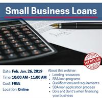 Small Business Loans Webinar