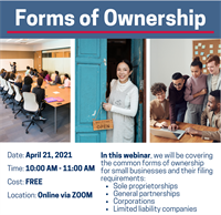 Forms of Ownership 4/21/21