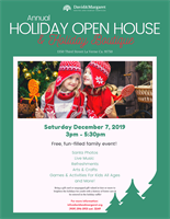 David & Margaret Youth and Family Services Annual Holiday Open House and Boutique