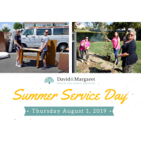 Summer Service Day at David & Margaret