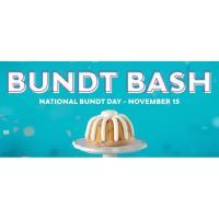 NOTHING BUNDT CAKES CELEBRATES NATIONAL BUNDT DAY WITH FIRST NATIONWIDE 'BUNDT BASH'