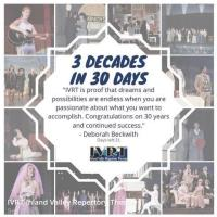 IVRT Celebrates 30 Years of Community Theater with Online Celebration