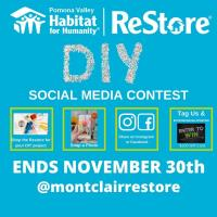 Pomona Valley Habitat for Humanity Hosts DIY Contest for Holiday ReStore Shoppers
