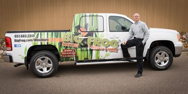The Big Frog Mobile, with owner Eric