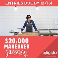 $20,000 Business Branding Makeover Giveaway from AlphaGraphics of Gilbert