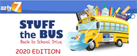 Stuff the Bus Back to School Drive