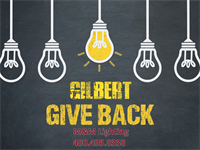 M&M Lighting: Gilbert Give Back Campaign