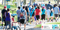 Phoenix LUNG FORCE Walk 2021