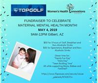 Fundraiser Event at TopGolf to Support Maternal Mental Health Month