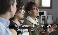 Monthly Dementia Caregiver Support Group at Clarendale