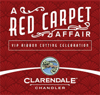 Clarendale Red Carpet Affair Ribbon Cutting Event