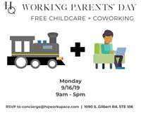 Working Parents' Day Free Coworking and Childcare