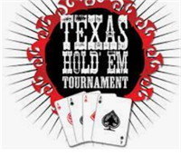 Texas Holdem Tournament next Saturday Oct 23rd at 3PM. Charity event cash prizes for top finishers