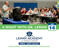 Join Us for a Night with Dr. Leman