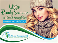 Winter Beauty Seminar at Excel Primary Care