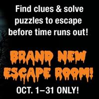 Cluemaster Escape Rooms presents ''Witching Hour,'' a brand new Halloween escape room!