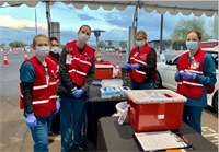 CGCC Nursing Students Serve on Front Lines of COVID-19 Vaccinations