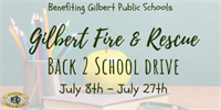 Back to School Drive Benefiting Gilbert Public Schools