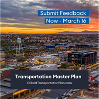 Gilbert Seeks Feedback on Transportation Master Plan