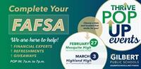 Complete your FAFSA! We are here to help!