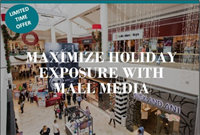 MAXIMIZE HOLIDAY EXPOSURE WITH MALL MEDIA