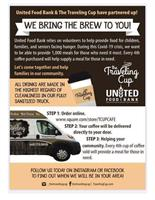 The Traveling Cup and United Food Bank teamed up!