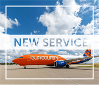 Phoenix-Mesa Gateway airport Welcomes Sun Country Airlines!