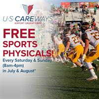 AIRPORT URGENT CARE OFFERING FREE SPORTS PHYSICALS AT Phoenix Sky Harbor International Airport