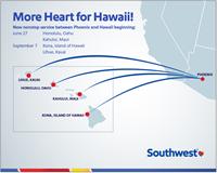 Say Aloha to Hawaii with New Southwest Flights
