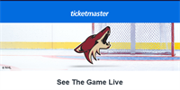 Arizona Coyotes Hosting In-Person Game Viewing Options