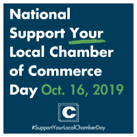 October 16th is National Support Your Local Chamber Day