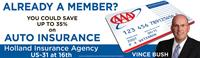 Members can save on Auto and Home Insurance