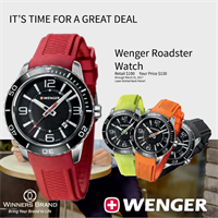Winners Brand: Q1-2017 Special!  Wenger Watch