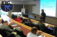 General Manager Jeremy Westcott training