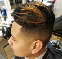 Mens Fresh Fade by Stephanie