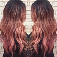 Rose Gold Balayge by Brianna