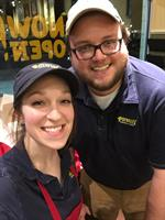 Potbelly Holland's GM and AM, Lauren Rakowicz and Tyler Notter
