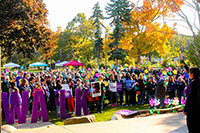 Opening Ceremony at the Walk to End Alzheimer's – Holland