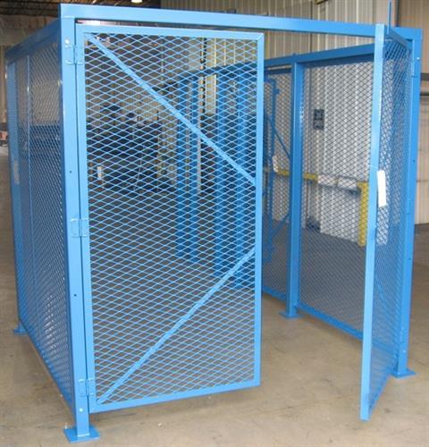 Machine safety enclosure