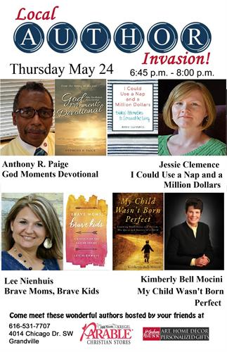 Come meet these wonderful authors!