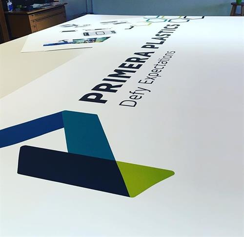Designed and printed wide format banners