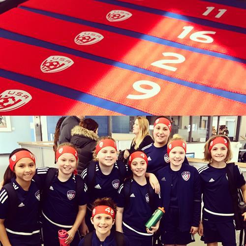 USA Soccer team headbands