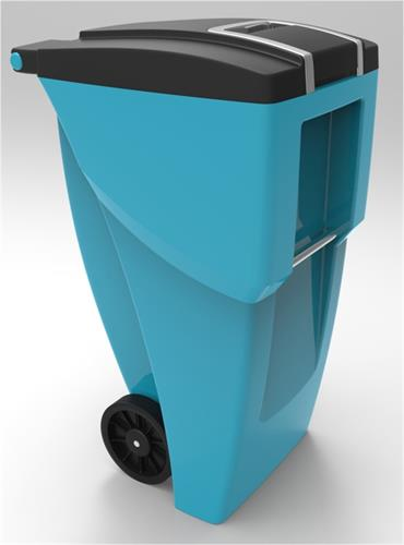 Organics waste cart designed for Cascade Cart Solutions