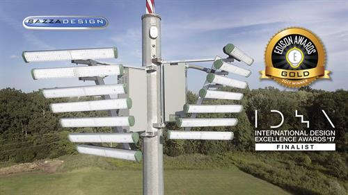 Award winning LED sports light design for Qualite Sports Lighting
