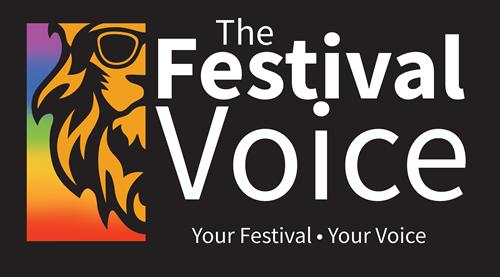 The Festival Voice brand identity