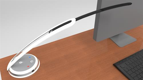 Namaste LED Task Light for the furniture industry