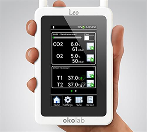 LEO - Hand Held CO2/02 meter design