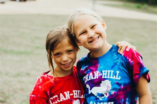 New friendships are forged every day at our Summer Camps.