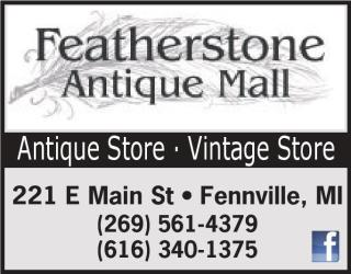 FEATHERSTONE ANTIQUE MALL- 20% ORR ANY ITEM OVER $20