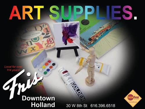 FRIS DOWNTOWN- ART SUPPLY (DEAL PENDING)